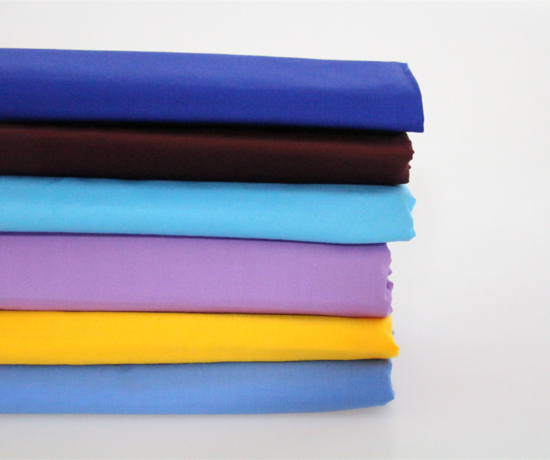 plain dyed polyester fabric