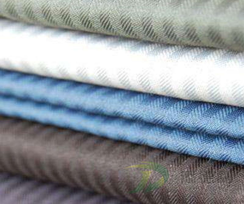 Polyester Dyed Herringbone Fabric