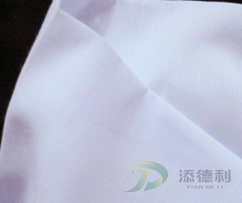 Polyester Bleached Plain Fabrics