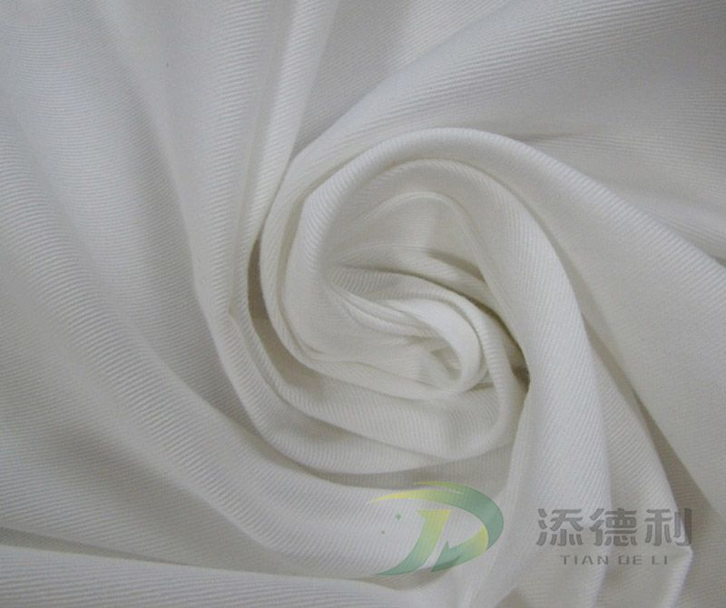 Cotton Bleached Twill Fabrics