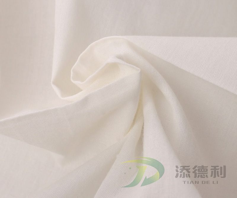 Bleached Plain Cotton Fabrics