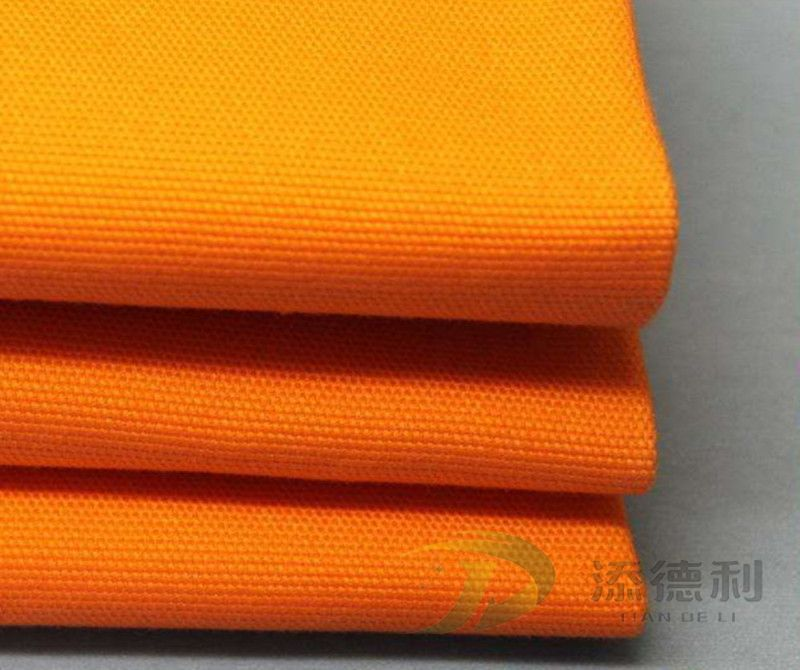canvas dyed polyester fabric