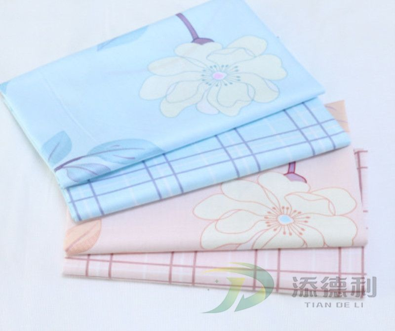 plain printed polyester fabric