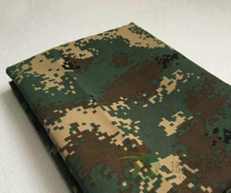 canvas camouflage printed cotton fabric