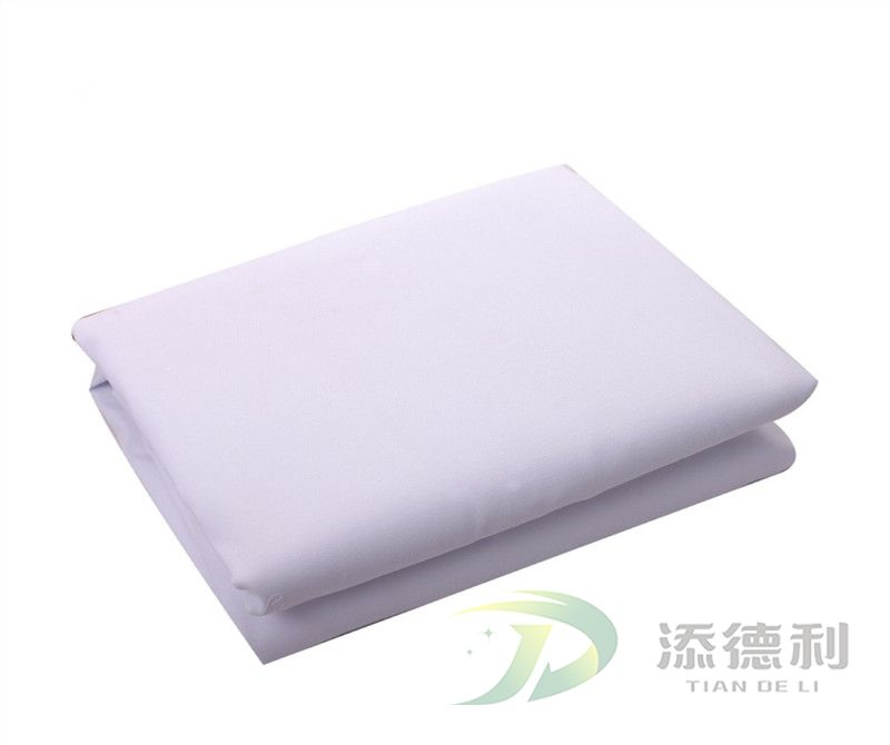 T/C plain bleached fabric