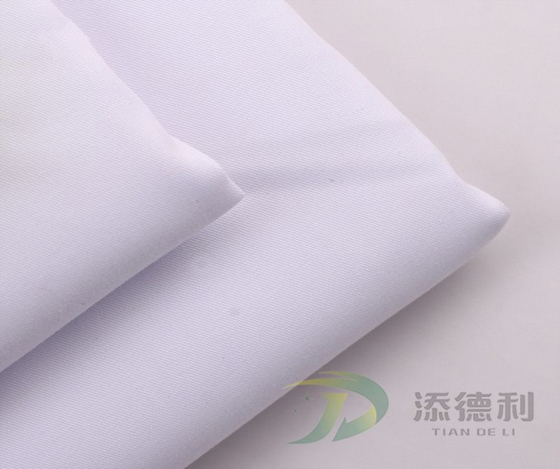 T/C twill bleached fabric