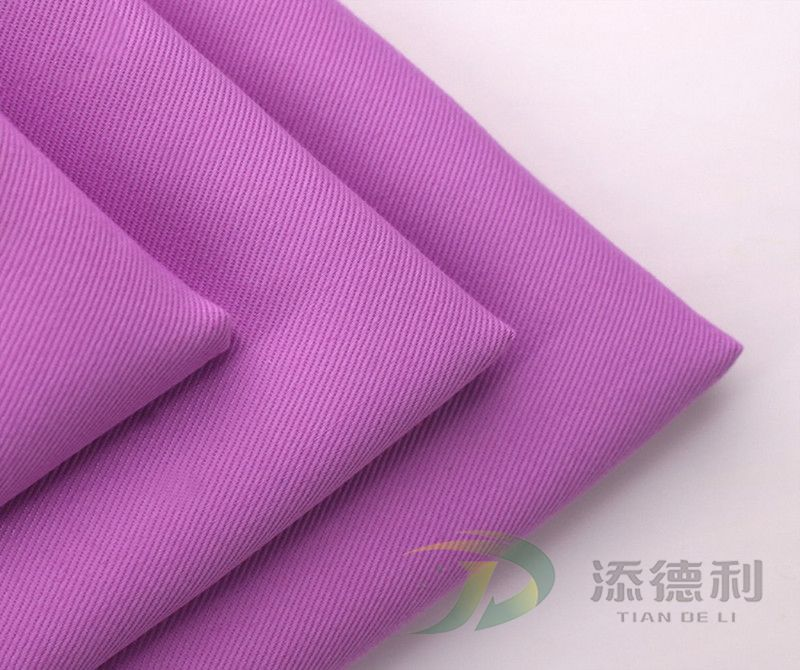 T/C twill dyed fabric