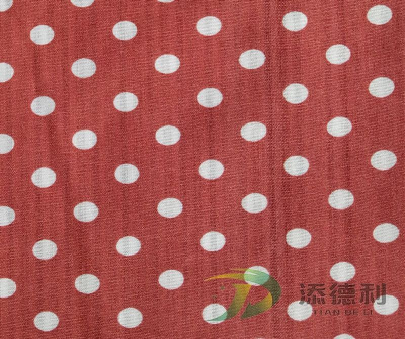 polyester plain printed fabric