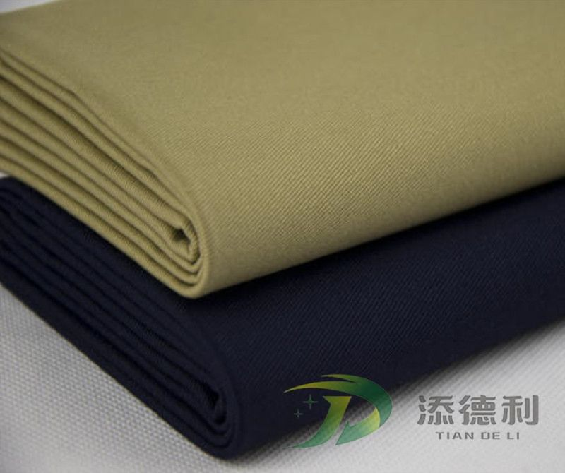 twill dyed T/C fabric