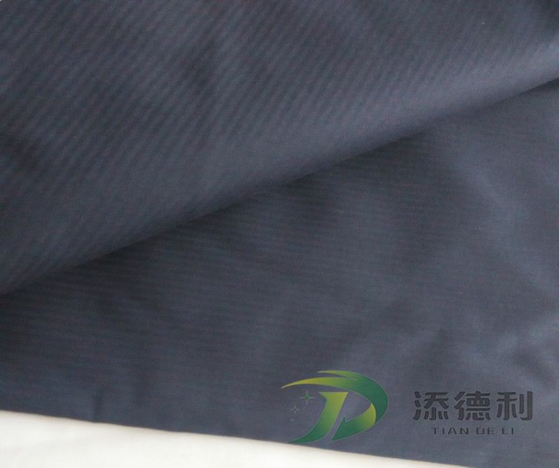 herringbone dyed polyester fabric