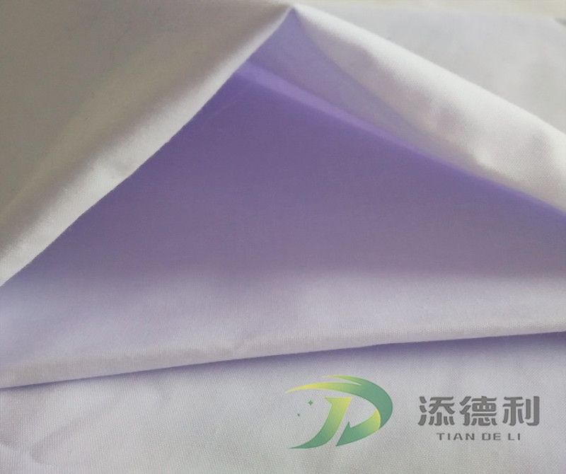 plain bleached polyester fabric