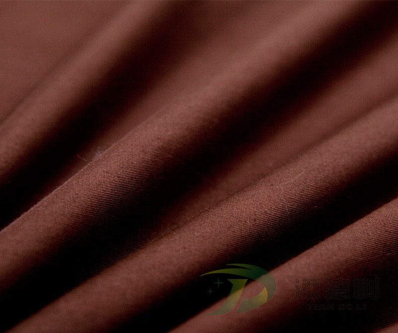 cotton twill dyed fabric