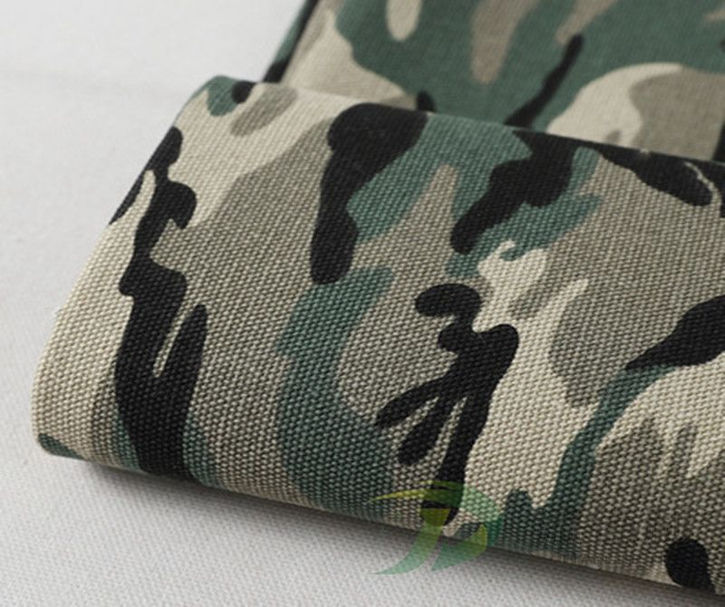 Polyester Camouflage Printed Canvas Fabrics