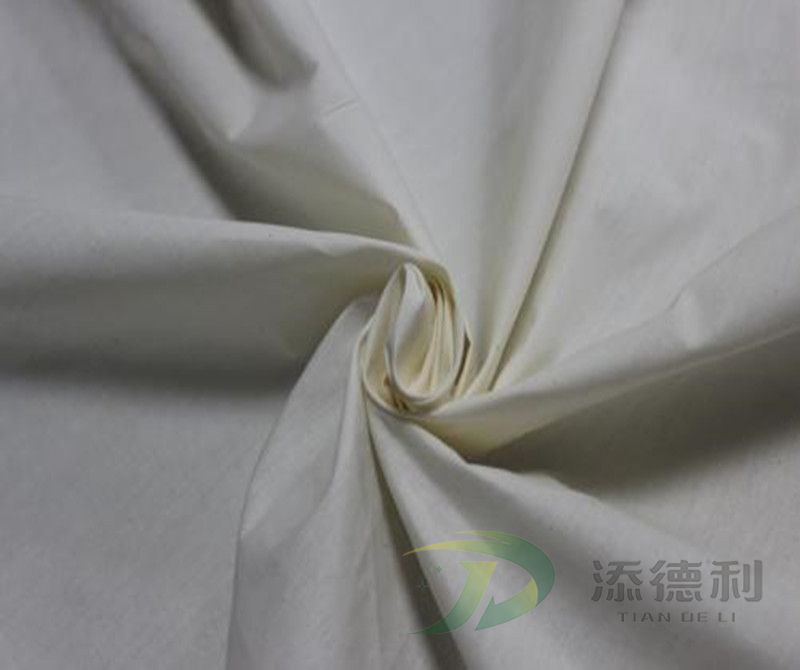poplin cotton plain grey fabric