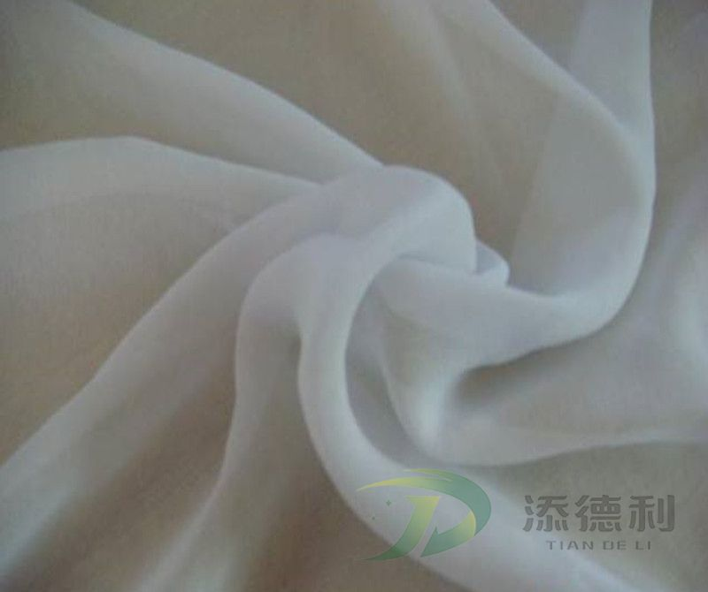 taffeta polyester plain grey fabric