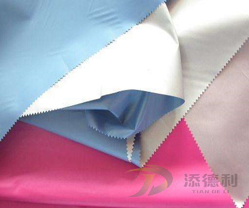 taffeta polyester plain dyed fabric