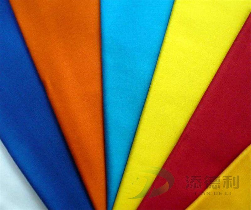 poplin polyester/cotton plain dyed fabric