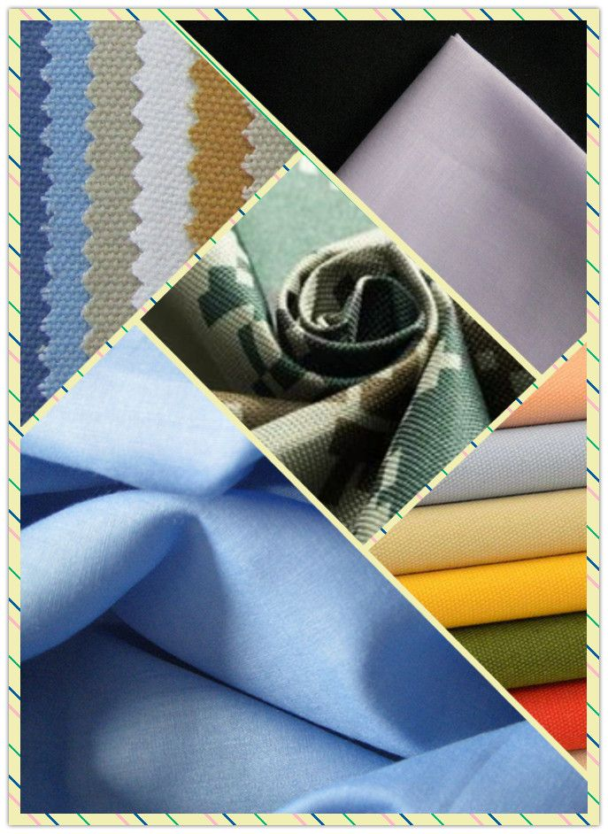 Polyester Bleached Canvas Fabrics
