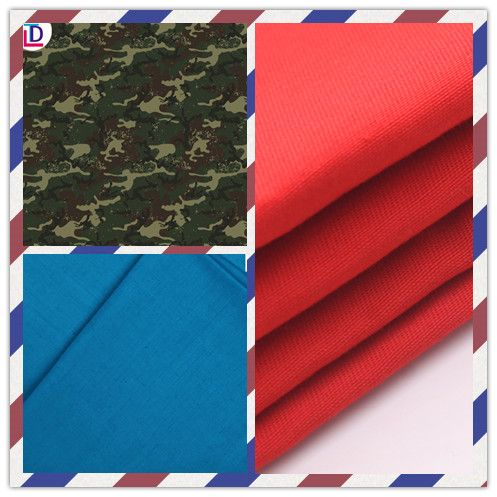 twill printed cotton fabric
