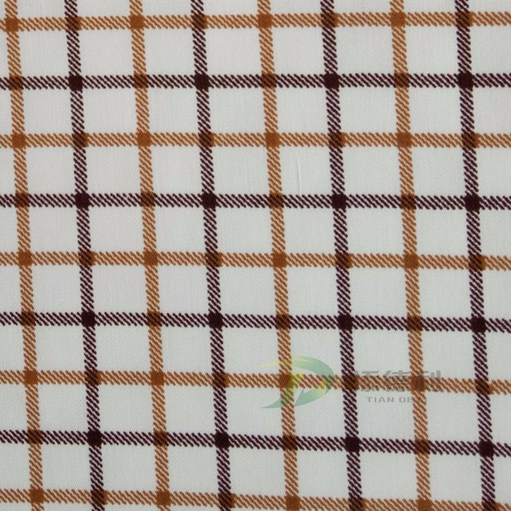 twill greige cotton fabric